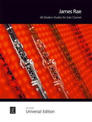 40 MODERN STUDIES SOLO CLARINET