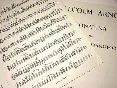 ARNOLD   SONATINA OP 29 CLARINET/PIANO