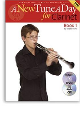 A NEW TUNE A DAY CLARINET BK 1 BK/CD/DVD