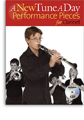 A NEW TUNE A DAY CLARINET PERFORMANCE PIECES BK/CD