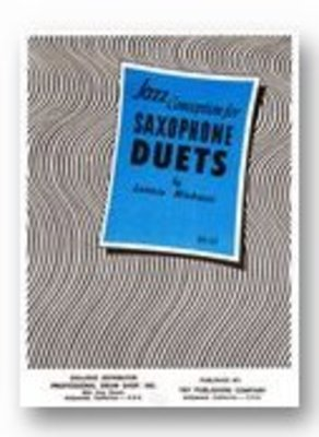 JAZZ CONCEPTION FOR SAXOPHONE DUETS BK/CD