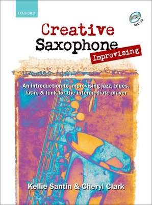 CREATIVE SAXOPHONE IMPROVISING BK/CD