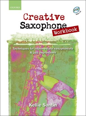 CREATIVE SAXOPHONE WORKBOOK BK/CD