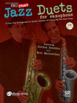 BIG PHAT JAZZ SAXOPHONE DUETS BK/CD