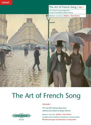 ART OF FRENCH SONG BK 1 MED LOW