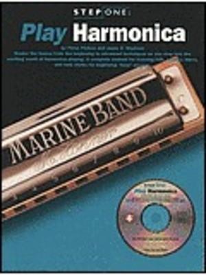 STEP ONE PLAY HARMONICA BK/CD