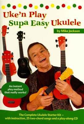 UKE N PLAY SUPA EASY UKULELE BK/CD