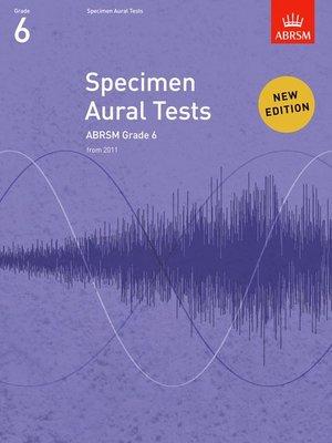 A B SPECIMEN AURAL TESTS GR 6 FROM 2011