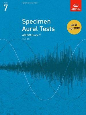 A B SPECIMEN AURAL TESTS GR 7 FROM 2011