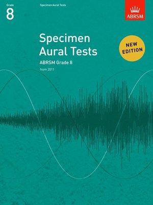 A B SPECIMEN AURAL TESTS GR 8 FROM 2011