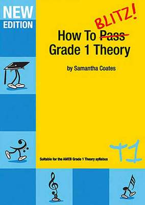 HOW TO BLITZ THEORY GR 1 WORKBOOK