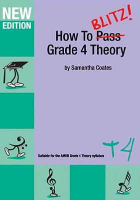HOW TO BLITZ THEORY GR 4 WORKBOOK