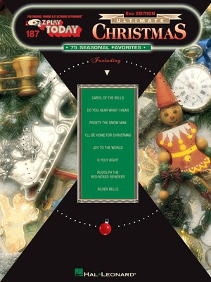 EZ PLAY 187 ULTIMATE CHRISTMAS SONGS 3RD ED