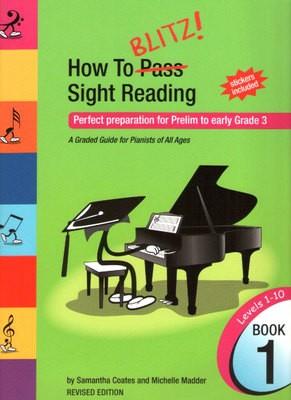 HOW TO BLITZ SIGHT READING BK 1 PREL   GR 3