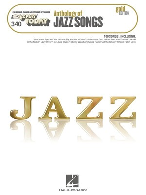 Anthology of Jazz Songs - Gold Edition - Hal Leonard Australia