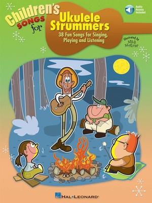 CHILDRENS SONGS FOR UKULELE STRUMMERS BK/CD