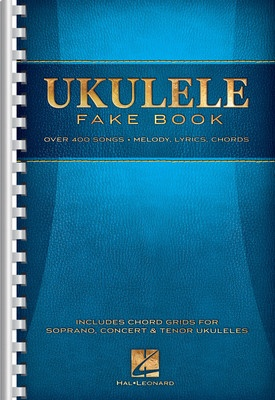 UKULELE FAKE BOOK 6X9 SPIRAL
