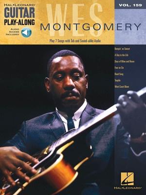 WES MONTGOMERY GUITAR PLAYALONG V159 BK/OLA