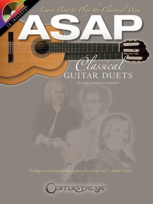 ASAP CLASSICAL GUITAR DUETS BK/CD