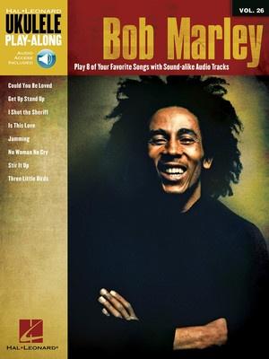 BOB MARLEY UKULELE PLAY ALONG BK/CD V26