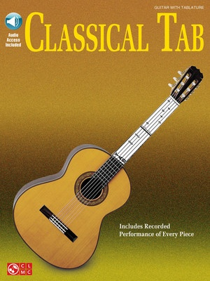 CLASSICAL TAB BK/CD