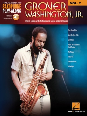 GROVER WASHINGTON JR SAX PLAYALONG V7 BK/OLA