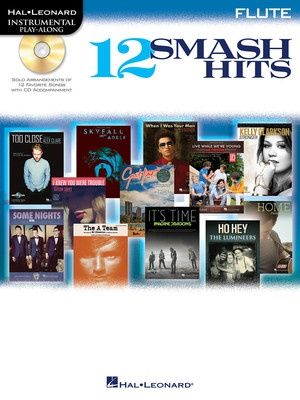 12 SMASH HITS BK/CD FLUTE