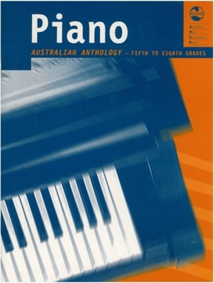 AUSTRALIAN PIANO ANTHOLOGY GRADE 5 TO 8 AMEB