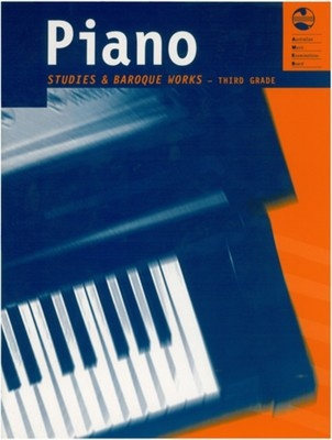 PIANO STUDIES AND BAROQUE WORKS GRADE 3