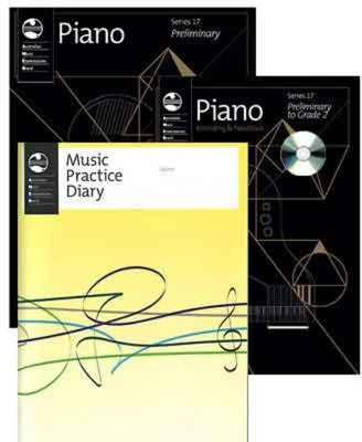 AMEB PIANO STUDENT PACK PRELIMINARY SERIES 17