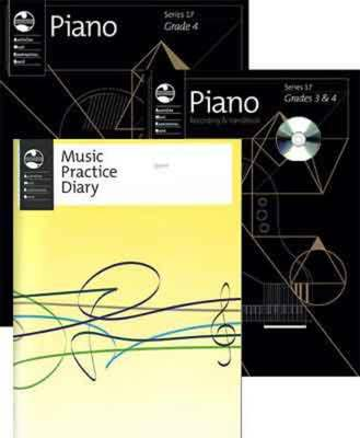 AMEB PIANO STUDENT PACK GRADE 4 SERIES 17