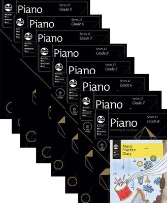 AMEB PIANO TEACHERS PACK SERIES 17 LEVEL 2 GR 5 8