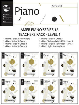 Piano Series 18 Teachers Pack Level 1