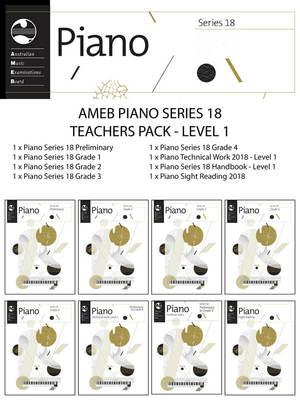 AMEB PIANO TEACHERS PACK LEVEL 1 SERIES 18