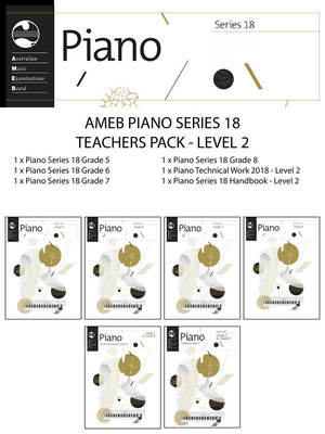 Piano Series 18 Teachers Pack Level 2