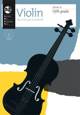 AMEB VIOLIN GRADE 5 SERIES 9 CD/HANDBOOK