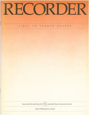 Recorder - First to Fourth Grades