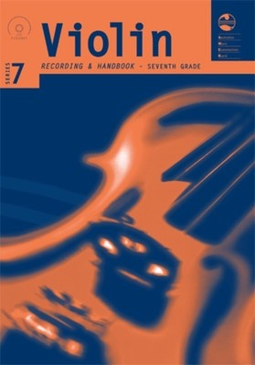 Violin Series 7 - CD and Notes Seventh Grade