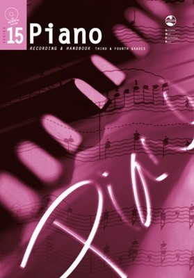 PIANO GRADE 3 TO 4 SERIES 15 CD/HANDBOOK AMEB
