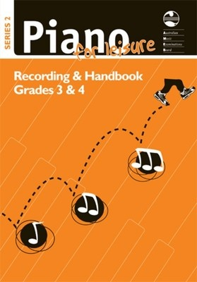 Piano For Leisure Grade 3 & 4 Series 2 CD Recording Handbook