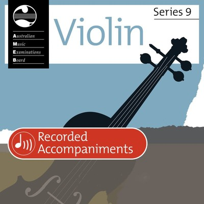 VIOLIN GRADE 1 SERIES 9 RECORDED ACCOMP CD