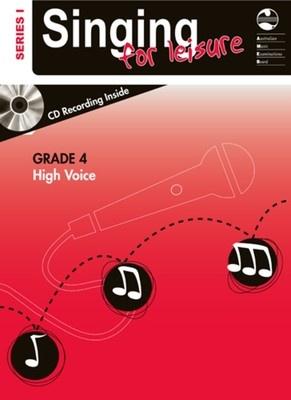 SINGING FOR LEISURE BK/CD GRADE 4 HIGH SERIES 1