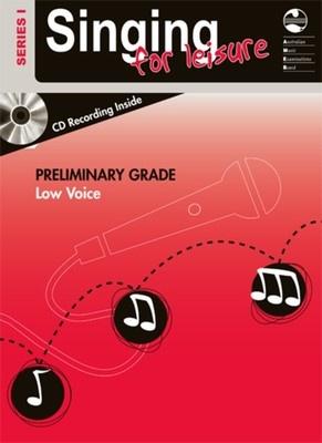 SINGING FOR LEISURE BK/CD PRELIM LOW SERIES 1