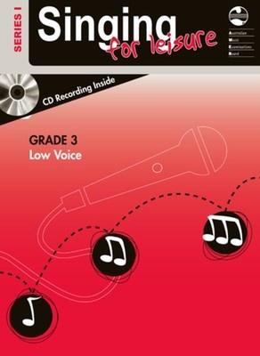 SINGING FOR LEISURE BK/CD GRADE 3 LOW SERIES 1