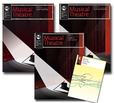 AMEB MUSICAL THEATRE SERIES 1 GR 3 LADIES STD PACK