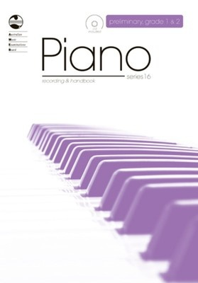 PIANO PRELIM TO GRADE 2 SERIES 16 CD/HANDBOOK