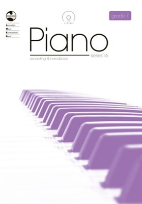 PIANO GRADE 7 SERIES 16 CD/HANDBOOK AMEB