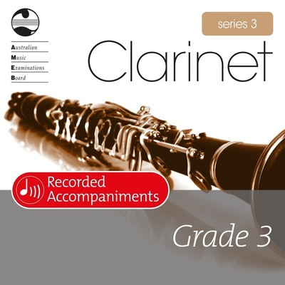 Clarinet Series 3 Grade 3 Recorded Accompaniments