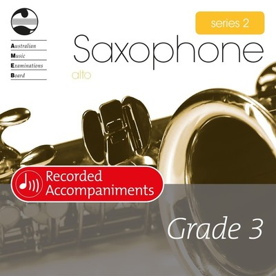 Alto Sax Series 2 Grade 3 Recorded Accompaniments