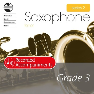 Tenor Sax Series 2 Grade 3 Recorded Accompaniments